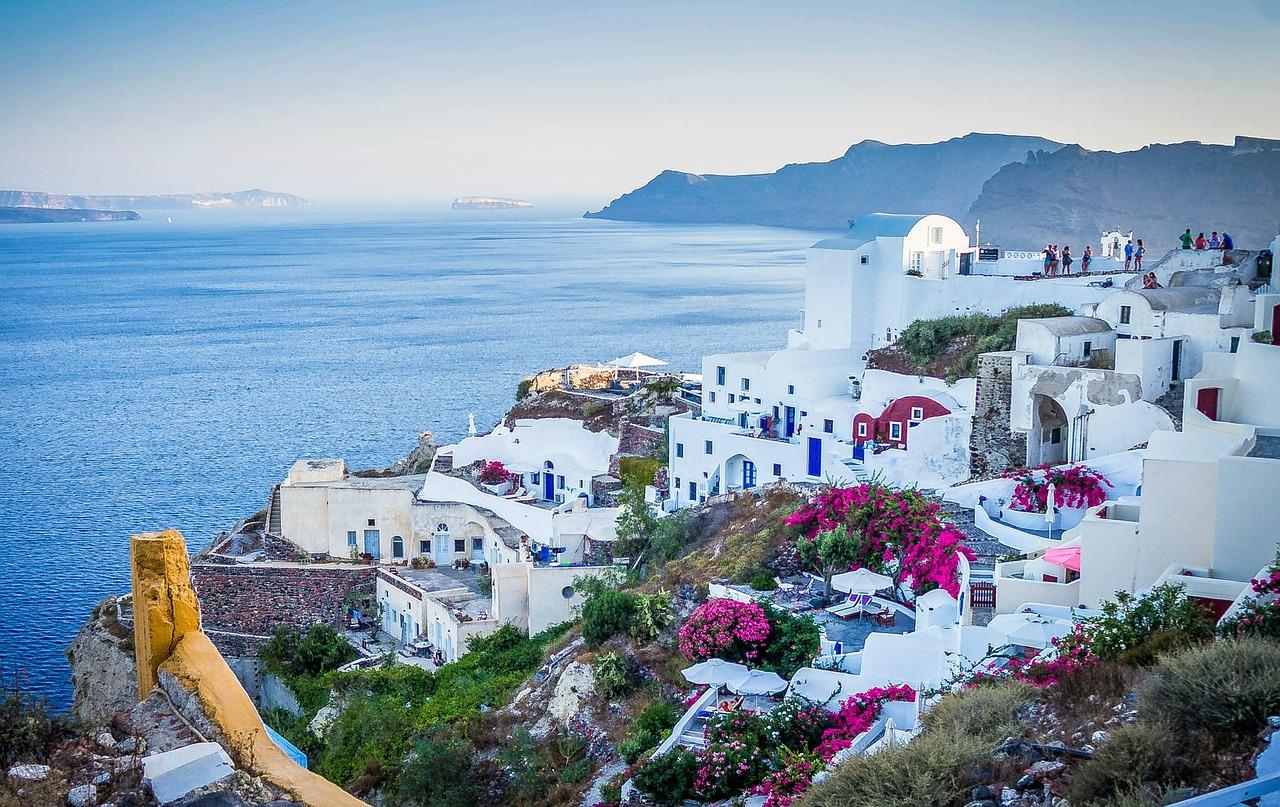 Vacanze a Santorini, Grecia
