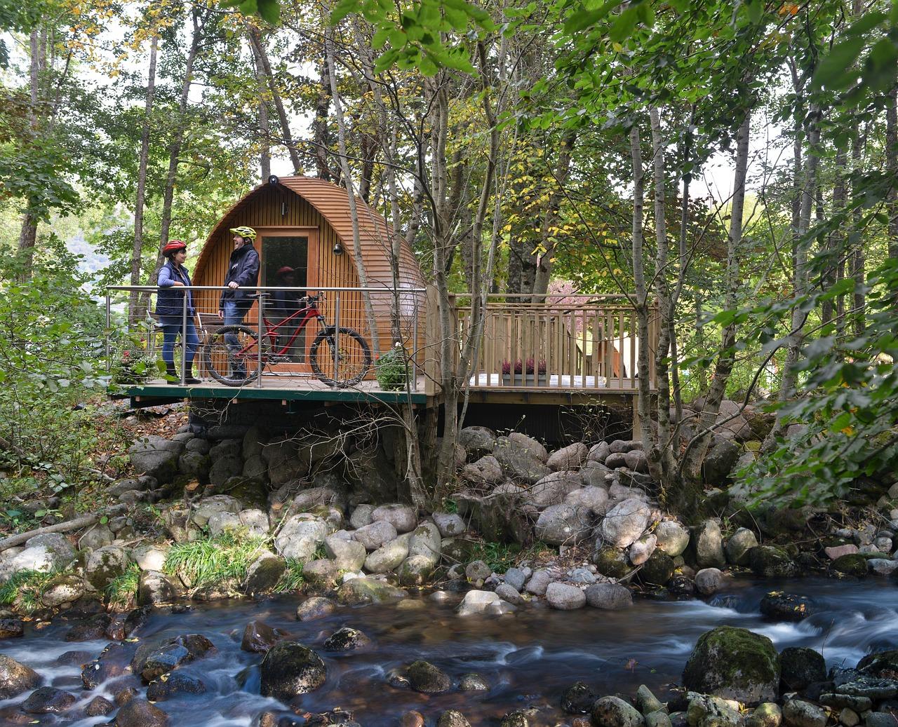 Vacanza su casa sull'albero con colazione e sauna da 46€/notte